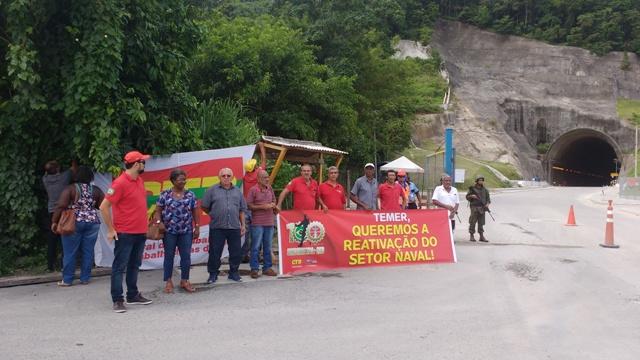 Sindimetal-Rio cobra geração de empregos e reativação do setor naval