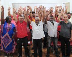 Assembleia aprova contribuição sindical